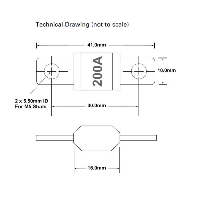 0 378 33 durite heavy duty violet 200a midi link fuse 50 amp blade fuse midi fuse diagram #23